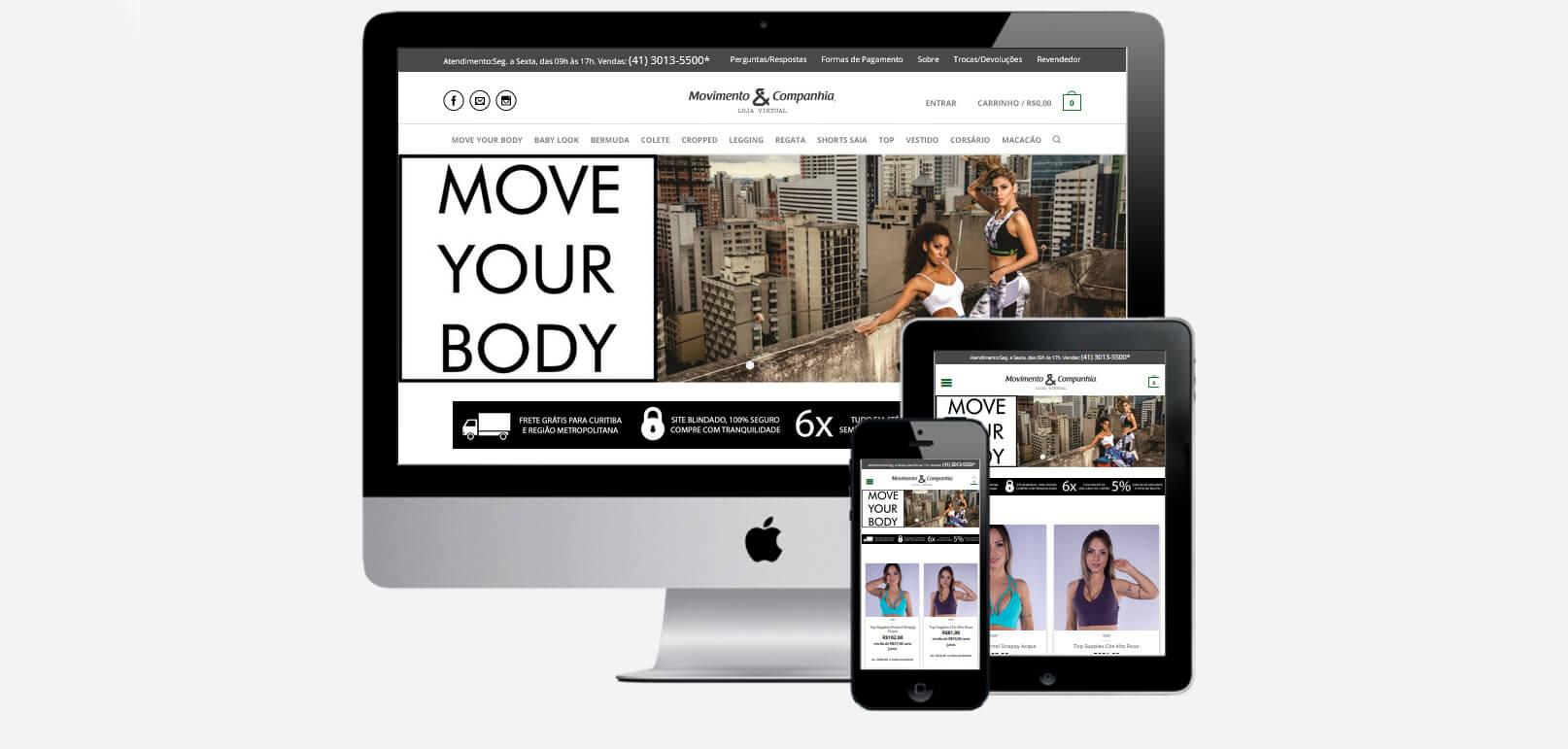 Movimento & Companhia - Loja Virtual