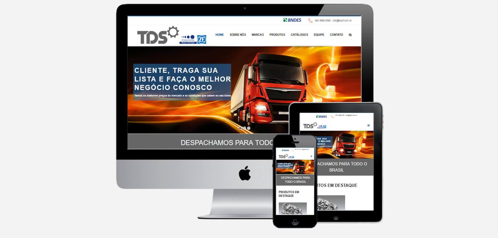 TDSZF - Peças para Trator